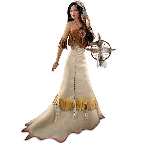 Circle Of Love Bride Doll Inspired By The Four Directions Blessing by The Ashton-Drake Galleries ()