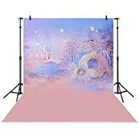 Funnytree5x7ft Photography backdrops background Blue bokeh dreamy night castle boy girl summer baby shower Photography studio