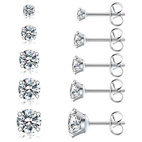 1. Stainless Steel Hypoallergenic 316L Earrings