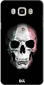 DailyObjects Mexican Skull Black Case For Samsung Galaxy J7 2016 Edition