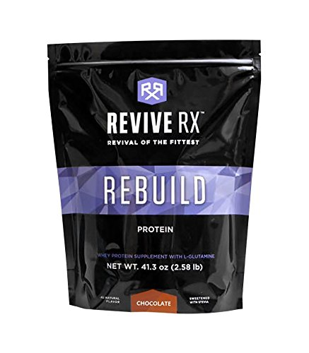 Revive Rx Rebuild Whey Protein Isolate and L-Glutamine Bulk 2.58lbs (Chocolate) Review