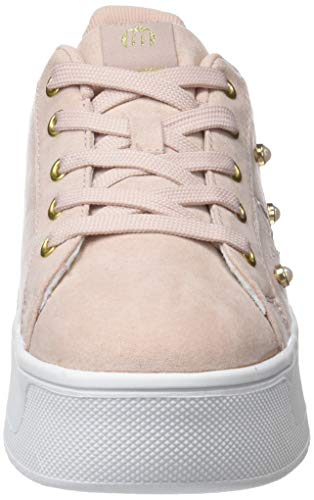 Blanc C28148 Nude Sneakers Basses Femme Mtng 69391 soft wzqnIv