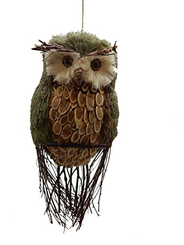 9-Inch Green Pastures Wholesale Polyresin Brown Bird Figurine