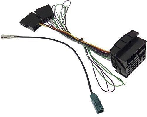 Adapter NAVI VW MFD2 RNS2 Radio RCD300 RCD500 Delta6 Antenne Kabel ...