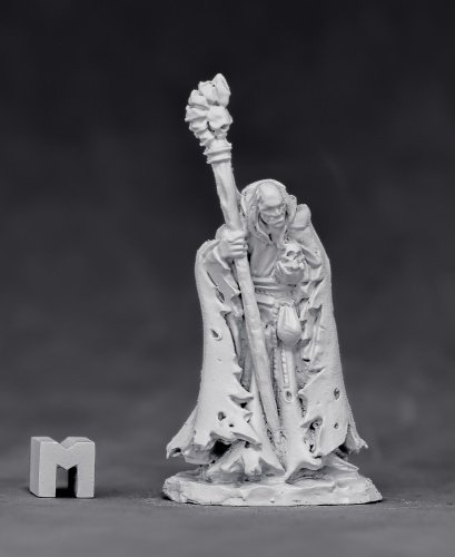 Reaper Miniatures Phineas Greybone, Necromancer #03880 Unpainted