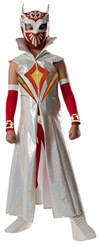 Wwe Women's Wrestling Costumes (Rubies WWE Deluxe Sin Cara Costume, Child)