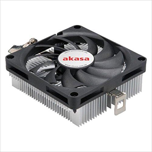 Akasa Low Profile AMD CPU Cooler - Mini-ITX and Micro-ATX (AK-CC1101EP02)