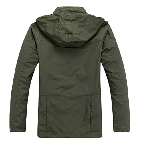 Giacca L'alpinismo Molla Singola L'autunno E Abbigliamento Uomo Per Verde Strato Esterna 1rYwxq1