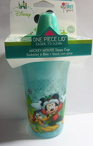 Disney - The First Year - Mickey Mouse - Insulated Sippy Cup - BPA Free - 9 Oz