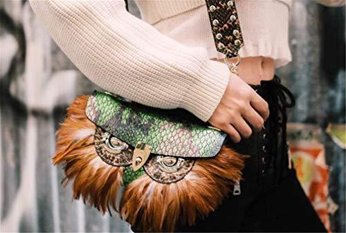 Borsa Design Tracolla Cinghia Borsa Donna Ginny Pelle Catena Eyewear Originale Maska14 Bag jaycel Riposizionabile sided Double Messenger Fashion Mano A In Mucca Spalla mediumbag 1ZAHZU