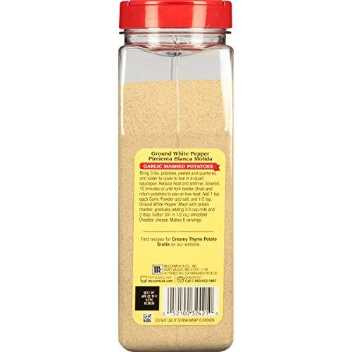 McCormick Ground White Pepper, Bulk, Pure White Pepper Powder, 18 oz by McCormick (Image #1)