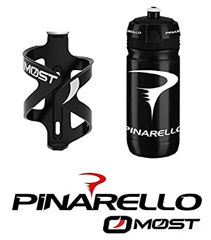 2 x Bottle cage FULL CARBON Pinarello 2 x Water bottle Pinarello MOST BIKE