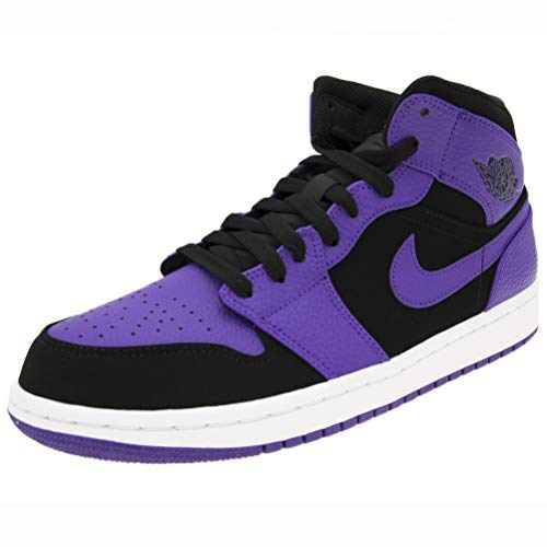 Nike Men's Jordan 1 Mid Basketball Shoe (10.5)