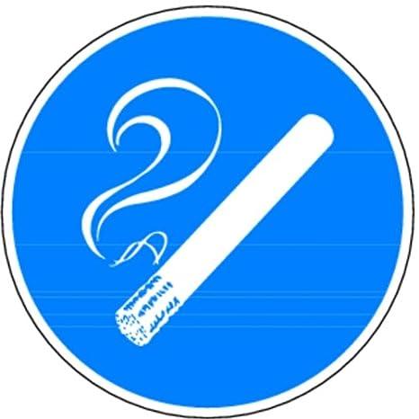 Schild PVC Rauchen erlaubt 200mm