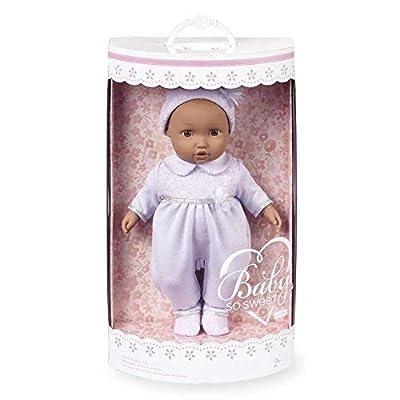 You & Me Baby So Sweet Nursery Doll Precious African American in Lavender