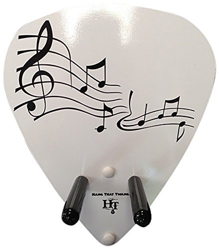Hang-That-Twang Music Staff Guitar Hanger [並行輸入品]   B07FDSF7KJ