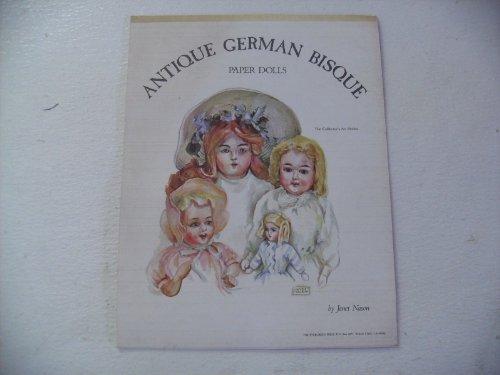 Janet Nason Antique German Bisque Paper Dolls 1977 #5315 Antique German Bisque