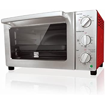 Kenmore 6-slice Convection Toaster Oven, Red