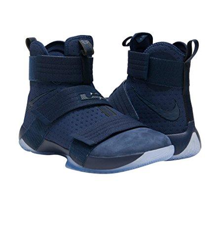 Nike Herren Lebron Soldier 10 Basketballschuhe Midnight Navy / Spiel Royal / Midnight Navy
