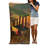 Super Absorbent Beach Towel Wood Helicopter Polyester Velvet Beach Towels 31.551.2 Inch