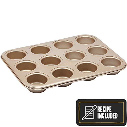 Paul Hollywood By Kitchencraft 12-hole Non-stick Mini Muffin Tin With Loose