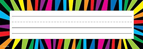 Creative Teaching Press Rainbow Stripes Name Plates (4502)