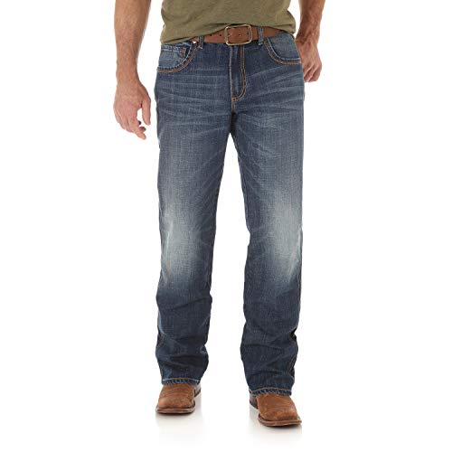 Wrangler Men's Retro Relaxed Fit Boot Cut Jean, Jackson Hole, 32W x 30L -