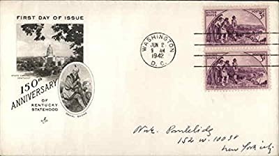 150th Anniversary of Kentucky Statehood Original First Day Cover