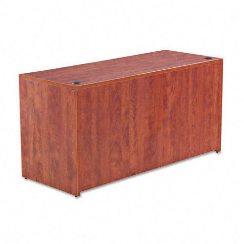 Alera VA256024MC Valencia 60 by 24 by 29-12-Inch Credenza Shell, Medium Cherry Frame/Top by Alera
