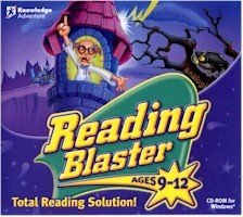 Knowledge Adventure Reading Blaster - READING BLASTER AGES 9-12