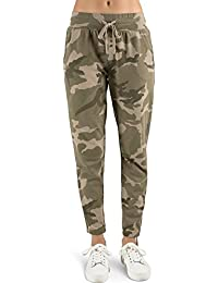 Young Women's Vintage Wash French Terry Lace Up Jogger Sweatpant