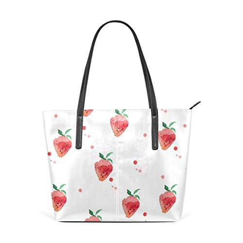 Tote Bags Handle Women's Large Strawberry Shoulder Handbags Satchel Purse Top Bennigiry qUz6f