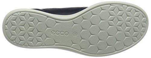 Sneaker Sense Basse Blau Retro Blue 50557marine ECCO marine Donna Aquatic FUWxqCn
