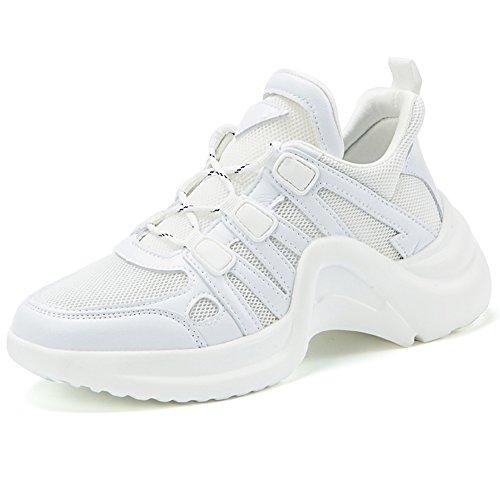 私の日焼けためらうMCICI ダンスシューズ レディーズ ダンススニーカー フィットネスシューズ ジャズダンス ウオーキングシューズ レースアップ 通気性 軽量 運動靴