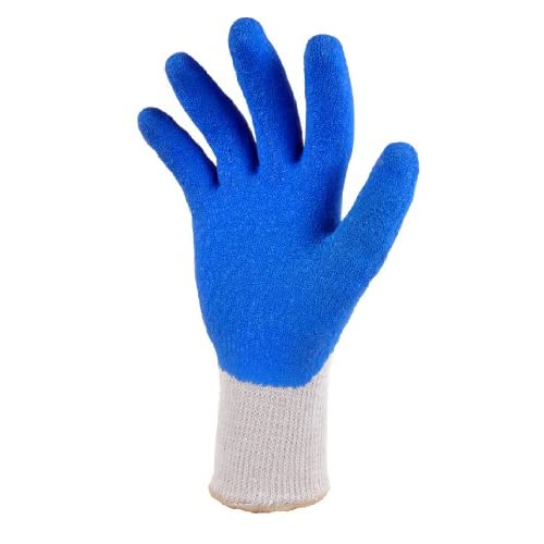 G F 1630 Heavy Duty Rubber Latex Coated Work Gloves For