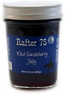product image for Rafter 7S Wild Sandcherry 8 oz Jelly - Gluten Free - No Preservatives - No Corn Syrup - Made with Fresh Nebraska Fruit