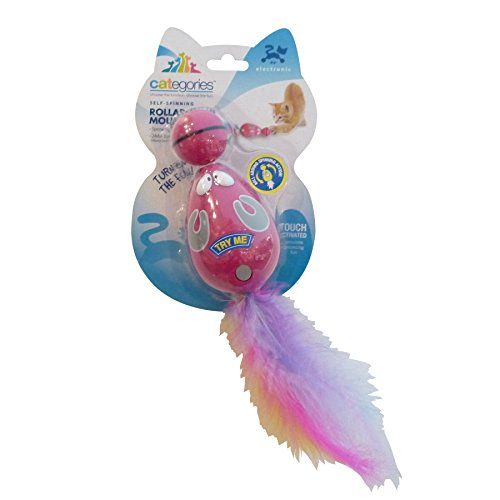 Categories Rollaround Mouse Electronic Cat Toy