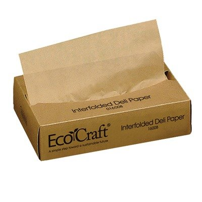 Eco-Wax Soy Blnd Deli Ppr 8X10.75 12/500 by Bagcraft Papercon