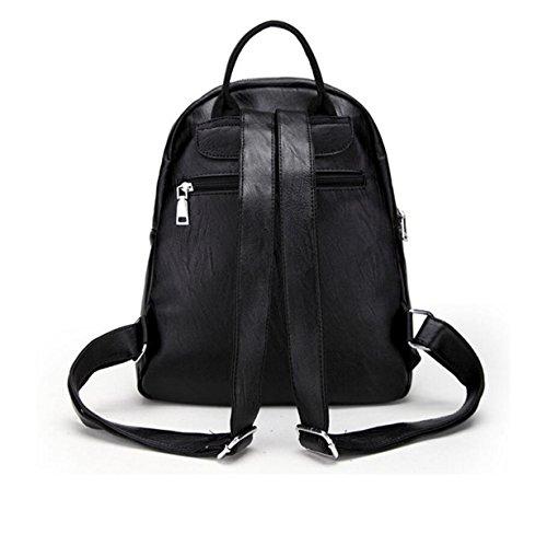 Frau Fashion Leder-Umhängetasche Rucksack Freizeit Reisetasche