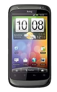 """HTC Desire S - Smartphone libre Android (pantalla táctil de 3,7"""" 480 x 800, 1.1 GB de capacidad, procesador de 1 GHz) color gris [importado de Alemania]"""