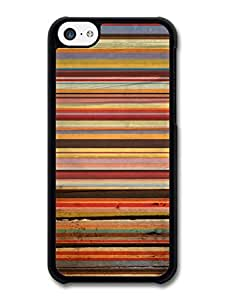 MMZ DIY PHONE CASEOrange Brown Purple Horizontal Stripes Autumn Fall Colours Cool Hipster Pattern case for iphone 4/4s
