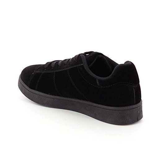Baskets Go Plateforme Style Tendance Doux Cm 2 Noir Daim qgAq4wTa