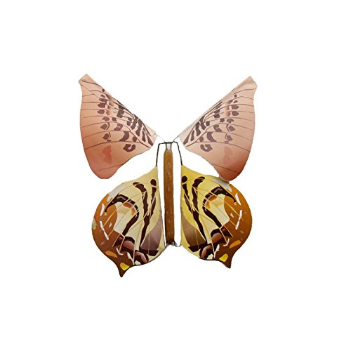 Gold Happy 5pcs Magic Toys Hand Transformation Fly Butterfly Magic Tricks Props Funny Novelty Surprise Prank Joke Mystical Fun Classic Toys