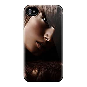 Cynthaskey Case Cover Protector Specially Made For Iphone 4/4s Lovely Face by icecream design