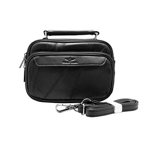 3-in-1-mini-tote-bag-cellphone-case-tool-shoulder-cross-body-bag-carabiner-waist-fanny-pack-y-black