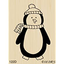 Percy Penguin Rubber Stamp By DRS Designs