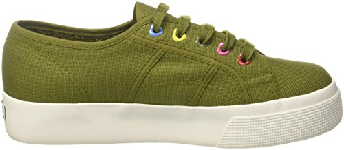 Superga Hearts Green Colors cotw Miltary 2730 8wYzg