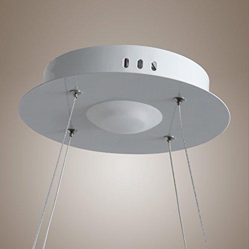Modern flush pendant led ring ceiling light chandelier fixture ylmodern flush pendant led ring ceiling light chandelier fixture lighting for living room bedroom dinning room aloadofball Gallery
