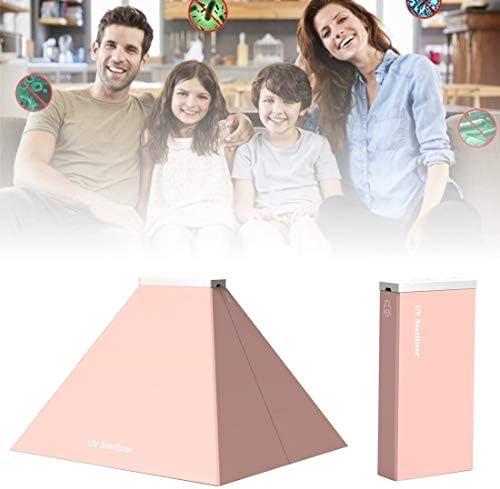 GAOSTERPRO YSC-056 Tragbarer UV-Licht Desinfektionsautomat Sterilisator Smartphone Unterwäsche Sterilisation Reinigung Box (Pink) (Farbe : Rosa)