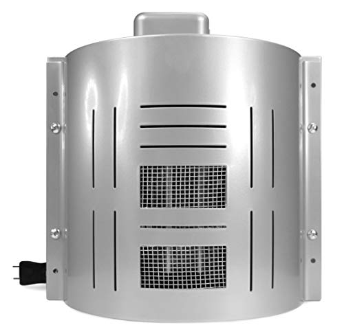Dog House Heater Plus Model - UL and CE Approved - Designed for Most Dog Houses w/ Easy D.I.Y. Installation & Adjustable Temperature Control - Suitable For All Breeds & Sizes - Anti Chew Cord Coil